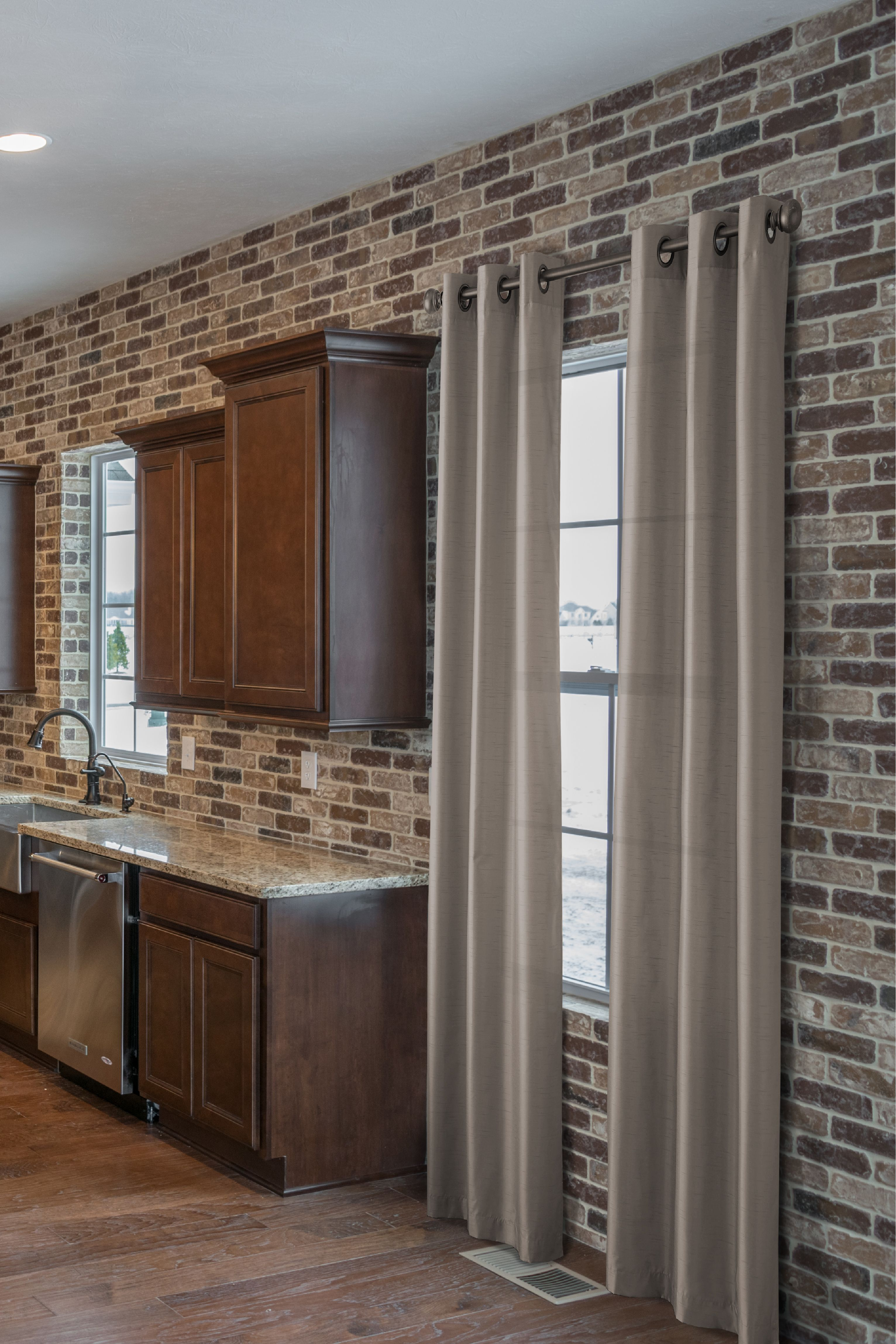 10 Kitchen And Home Decor Items Every 20 Something Needs: Embarcadero Thin Brick Made By McNear. This Homeowner Went