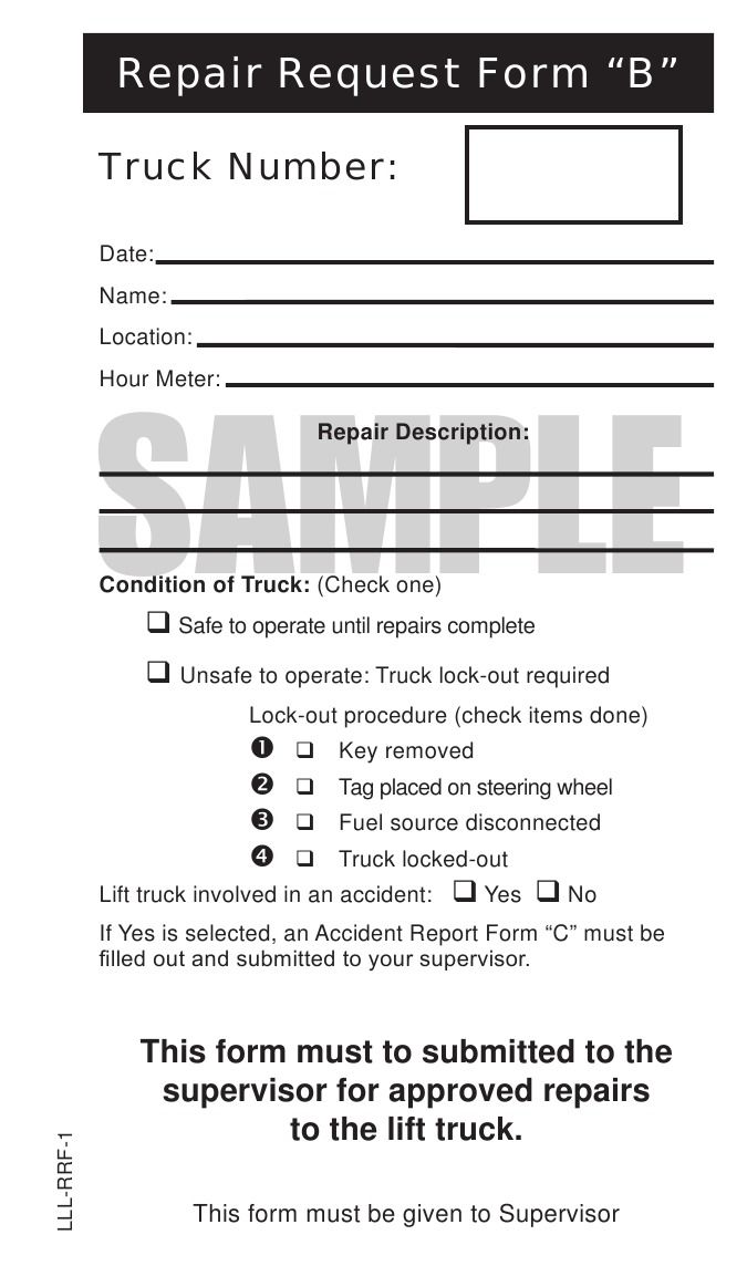 Equipment Operator Inspection Report Format  Google Search  Jody