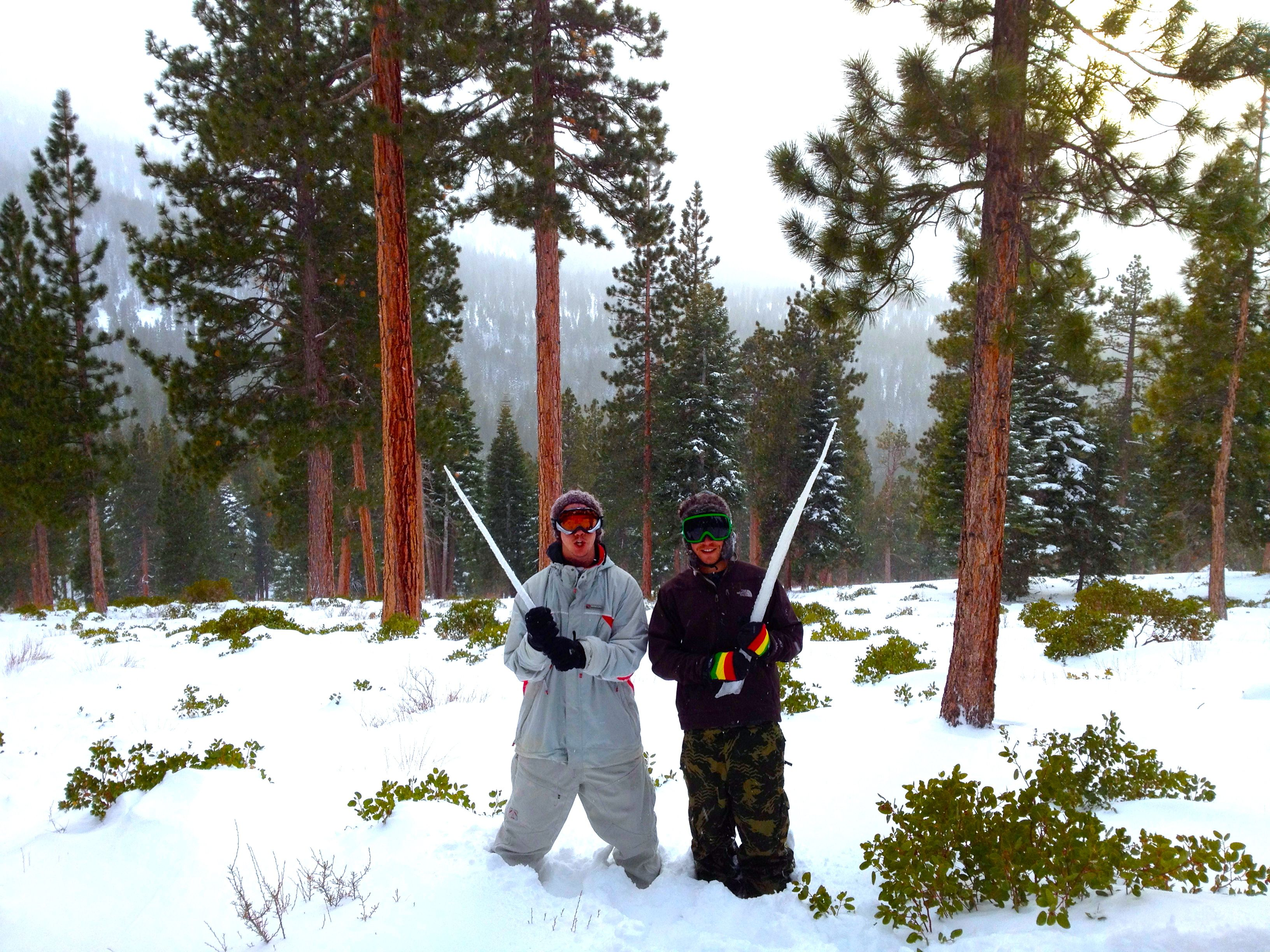 Warriors of ice at Northstar-at-Tahoe!  www.arctivity.com