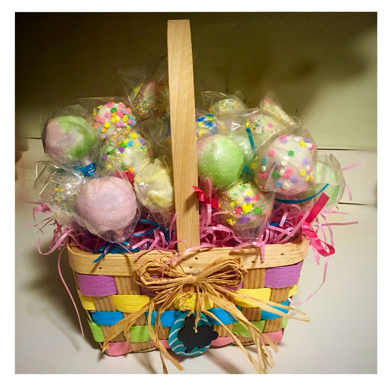 Cake Pop Easter Basket!