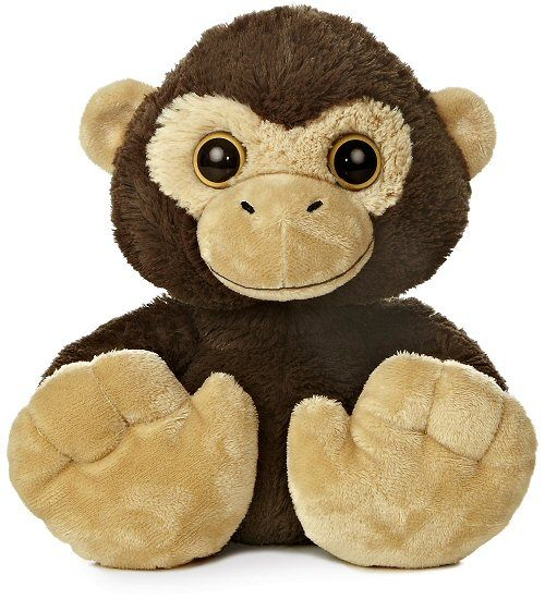 Chuchee Chimp Taddle Toes Stuffed Animal by Aurora