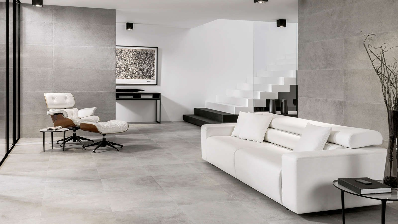Sol Carrelage Ston Ker Roche Acero 59 6x120 Cm Carreaux De Mur Roche Acero 33 3x100 Cm Deco Maison Carreaux De Sol Deco #stone #wall #tiles #living #room