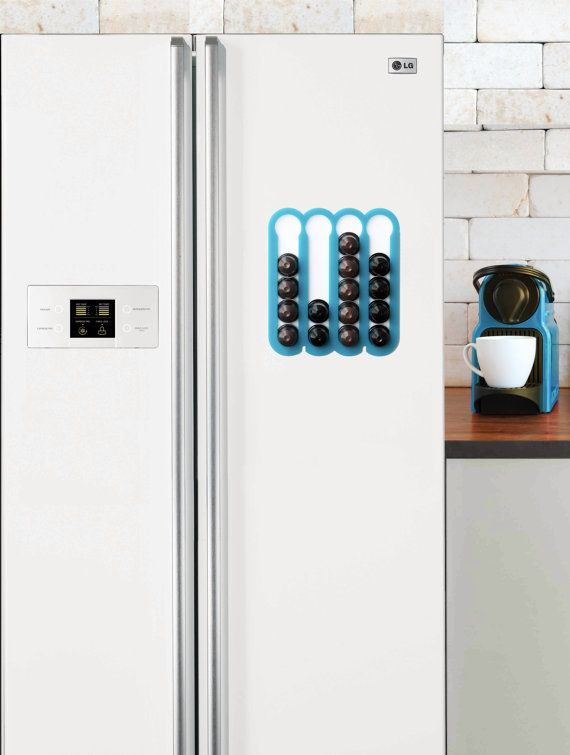 nespresso vertuoline red coffee pod holder magnetic kitchen organizer kitchen accessory design. Black Bedroom Furniture Sets. Home Design Ideas
