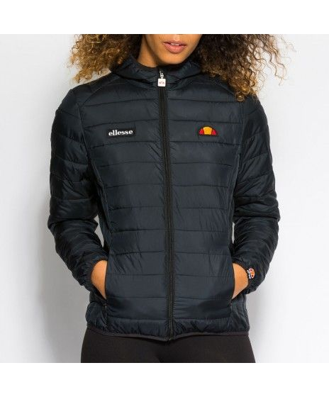 61838e31 Womens Ellesse Lompard Anthracite Padded Jacket | Swann in 2019 ...