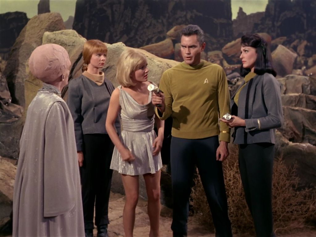 "Star Trek 1 x 12 ""The Menagerie Pt 2 "" Susan Oliver as Vina Majel ..."