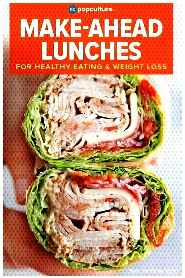 Make-Ahead Lunches to Give You a Weight Loss Boost This Week 5 Easy Make-Ahead Lunches to Give You