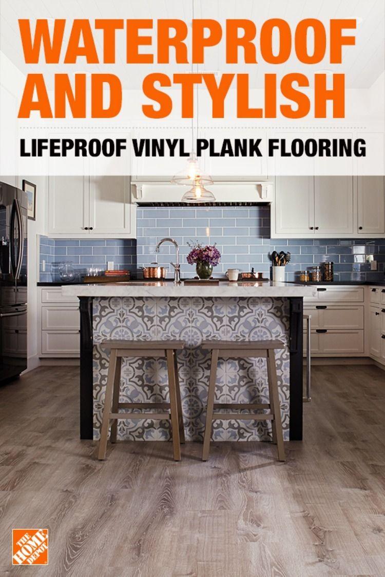 Lifeproof Vinyl Plank Vinyl Plank Vinyl Plank Flooring Kitchen Remodel