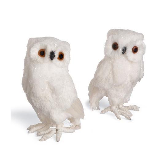 7 | White Owl Christmas Ornaments | Pinterest | Christmas ...