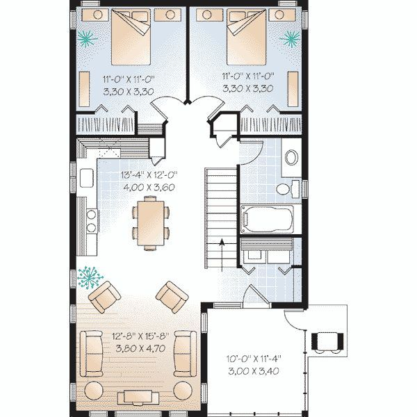 plano casa estilo colonial buscar con google la loma