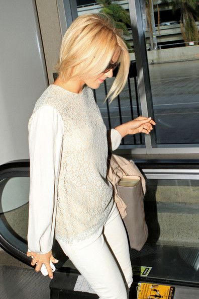 Julianne Hough Photos Photos: Julianne Hough at the Airport in LA