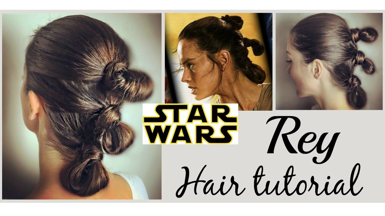 To Subscribe For New Videos Click The Link Below Https Www Youtube Com C Nattilystyle Hello My Beautie Star Wars Hair Rey Hair Star Wars Rey Star Wars Hair