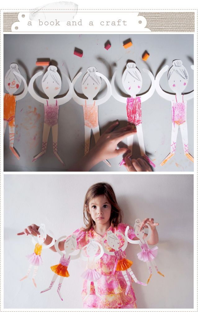 Ballerina Girl Craft | DIY I Love | To do with the kids | Pinterest ...