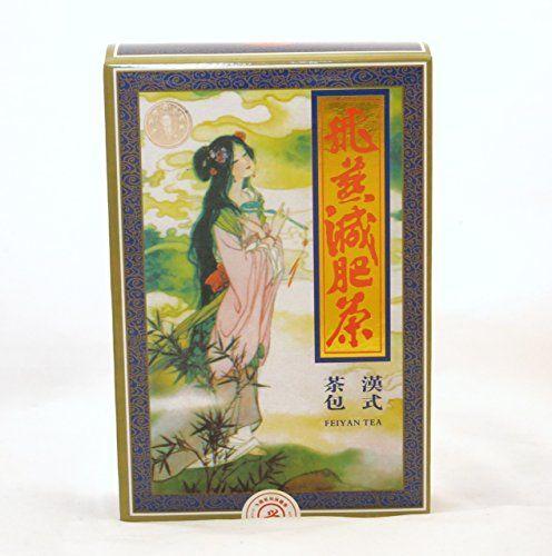 Thé Feiyan , 2 boîtes , 40 sachets de thé , 3 semaines Detox & Minceur: supprime l'appétit Convient aux végétaliens Réduit les…