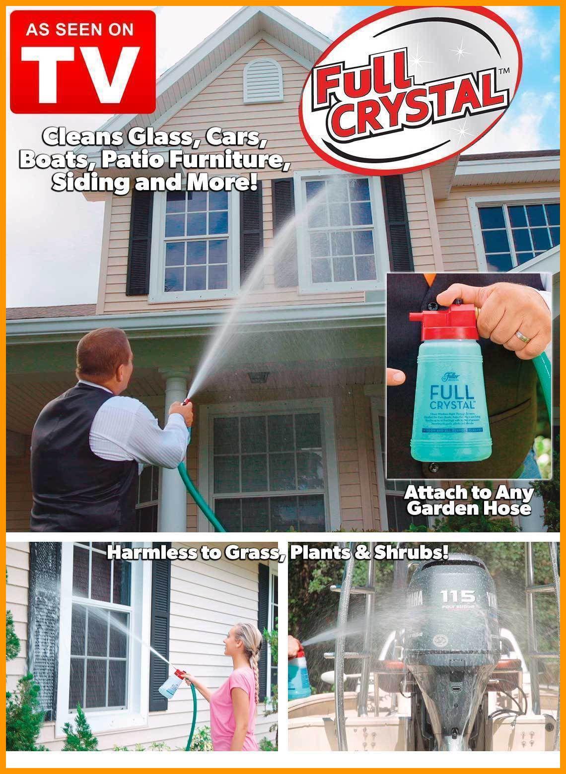 Fuller Brush Full Crystal Outdoor Glass Cleaner As Seen On Tv Window