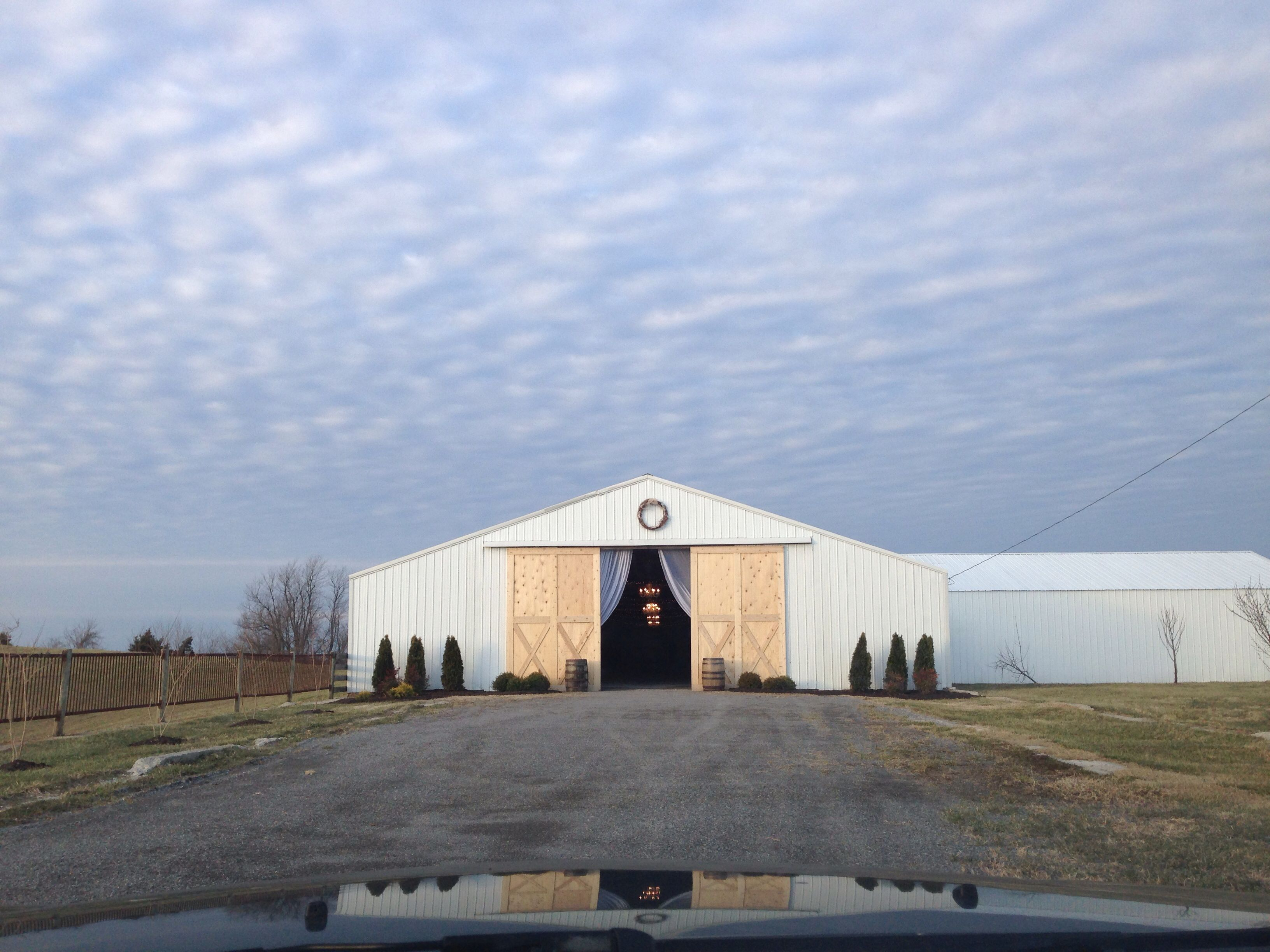 The Bluegr Wedding Barn Where It Will Be