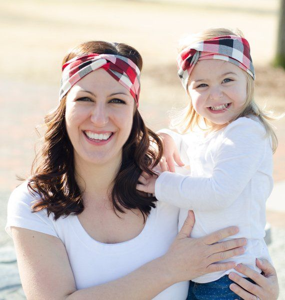 Mommy and Me Headband - Matching Mommy Daughter Set - Mommy And Me Outfit -  Matching Headbands - Mom 4153873d203