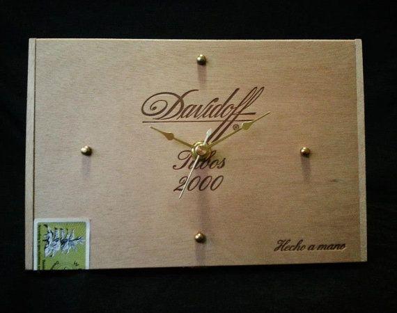 Hey, I found this really awesome Etsy listing at https://www.etsy.com/listing/197891741/davidoff-cigar-box-clock