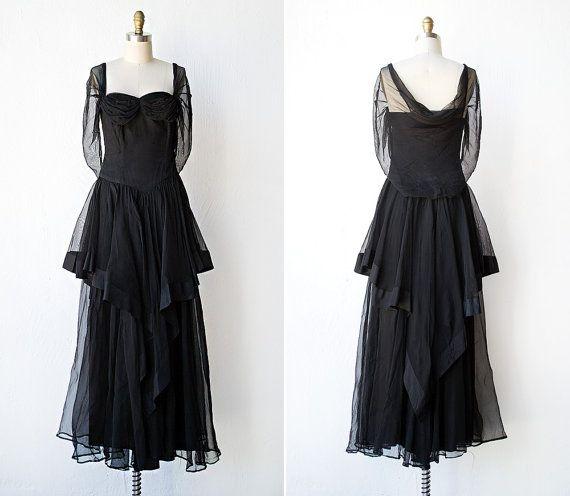 Vintage 1940s dress