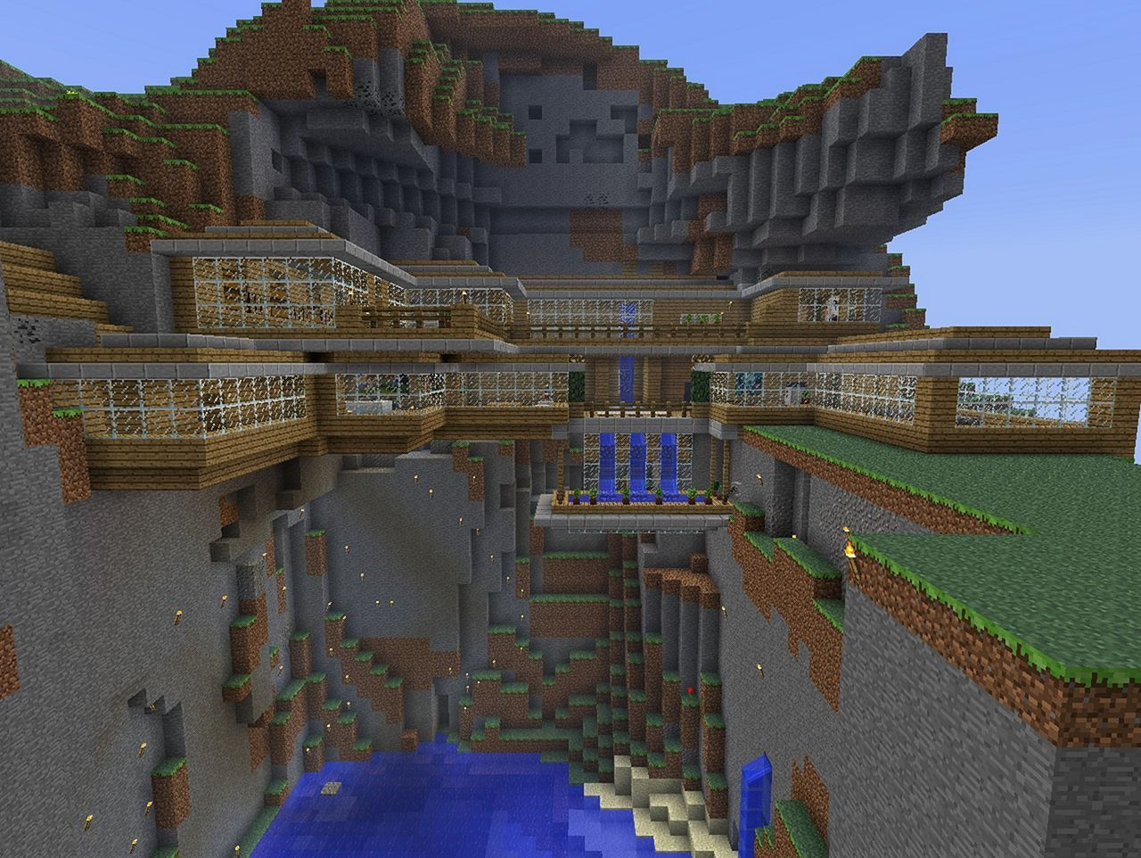Brilliant gorgeous diy minecraft crafts and party ideas https decoredo also threw this together in an afternoon mountain side house rh pinterest