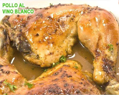 Pollo Con Perejil Y Vino Blanco Chicken Limone Lemon Chicken Recipe Braised Chicken