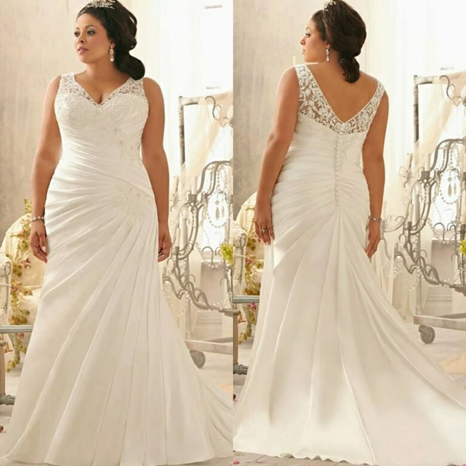 super gorgeous plussize wedding dresses to flatter you best on