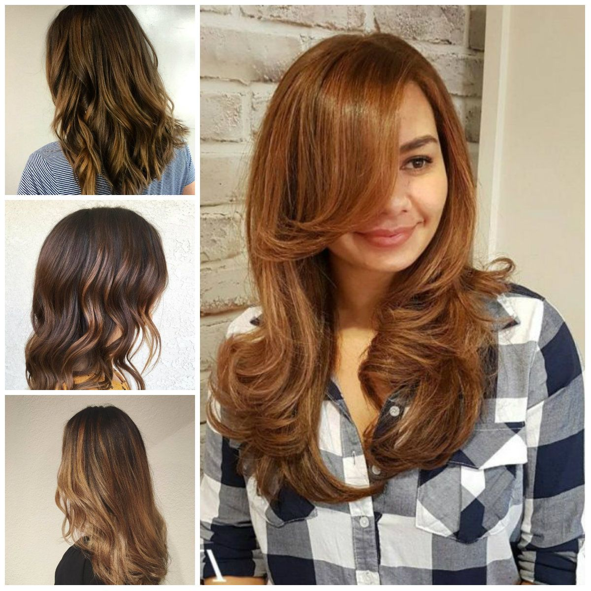 Pictures Of Dark Golden Brown Hair Color