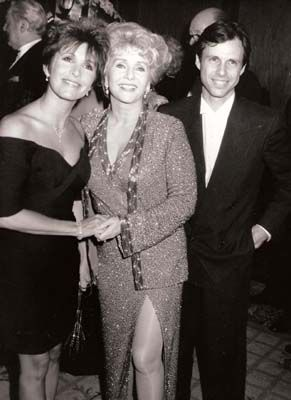 Debbie Reynolds with her kids Carrie & Todd Fisher