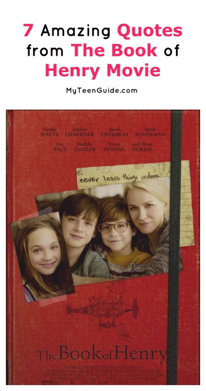 7 Most Inspiring The Book of Henry Movie Quotes