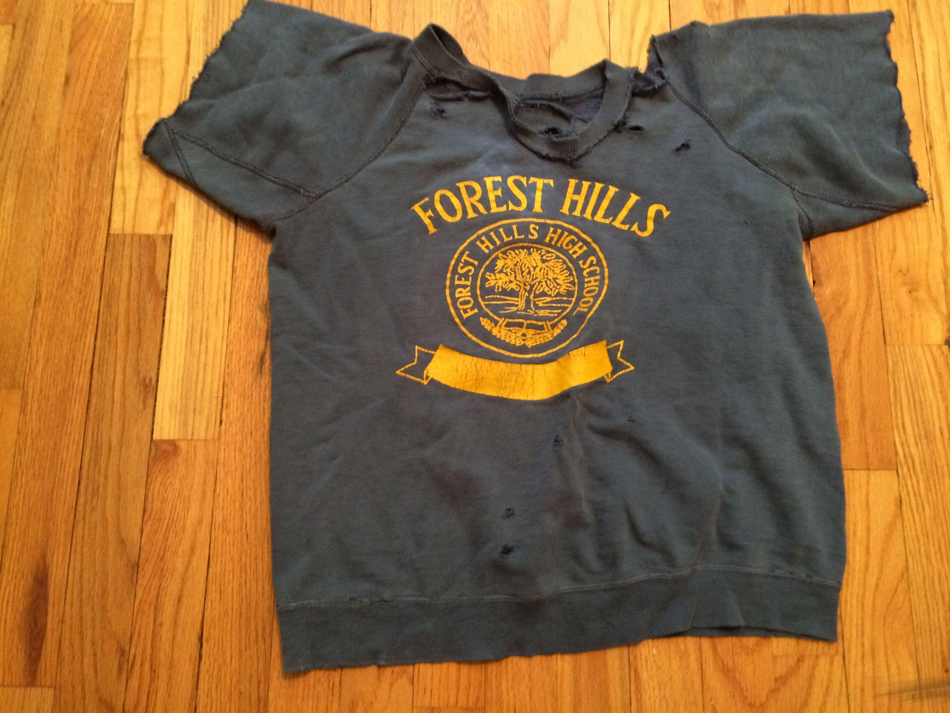 Forest Hills High School shirt circa late 70's    Across the