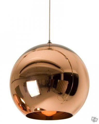 Tom Dixon Lamp Luminaria Pendente De Cobre Candeeiro Lampadas De Teto