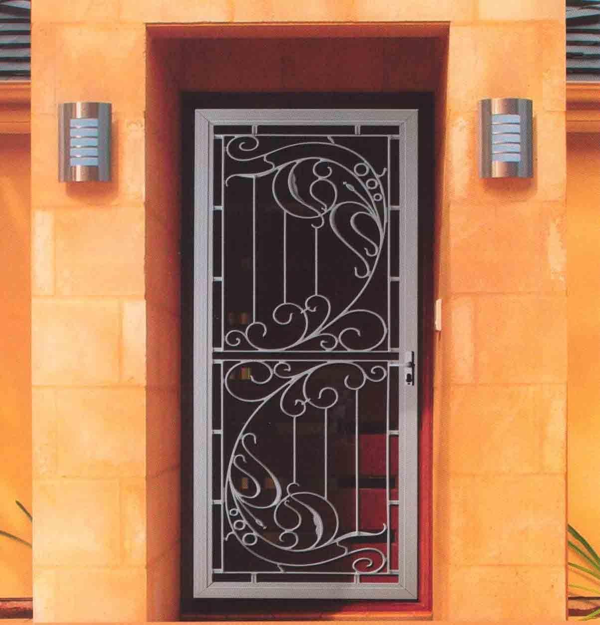 Screen Doors Cdk Screens For All Your Window Door And Screening Solutions Decorative Screen Doors Security Screen Door Iron Doors