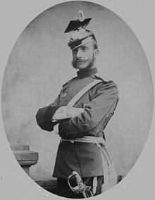 Alfonso XII (1857 - 1885). King of Spain from 1874 to his death in 1885. He married twice and had three children.