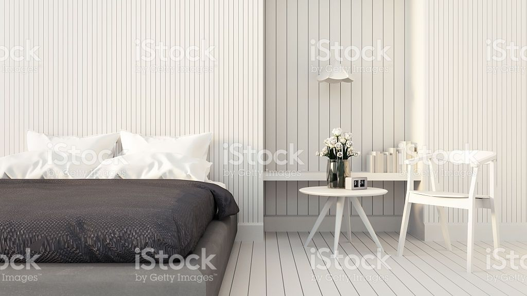 Loft and modern bedroom royalty-free stock photo