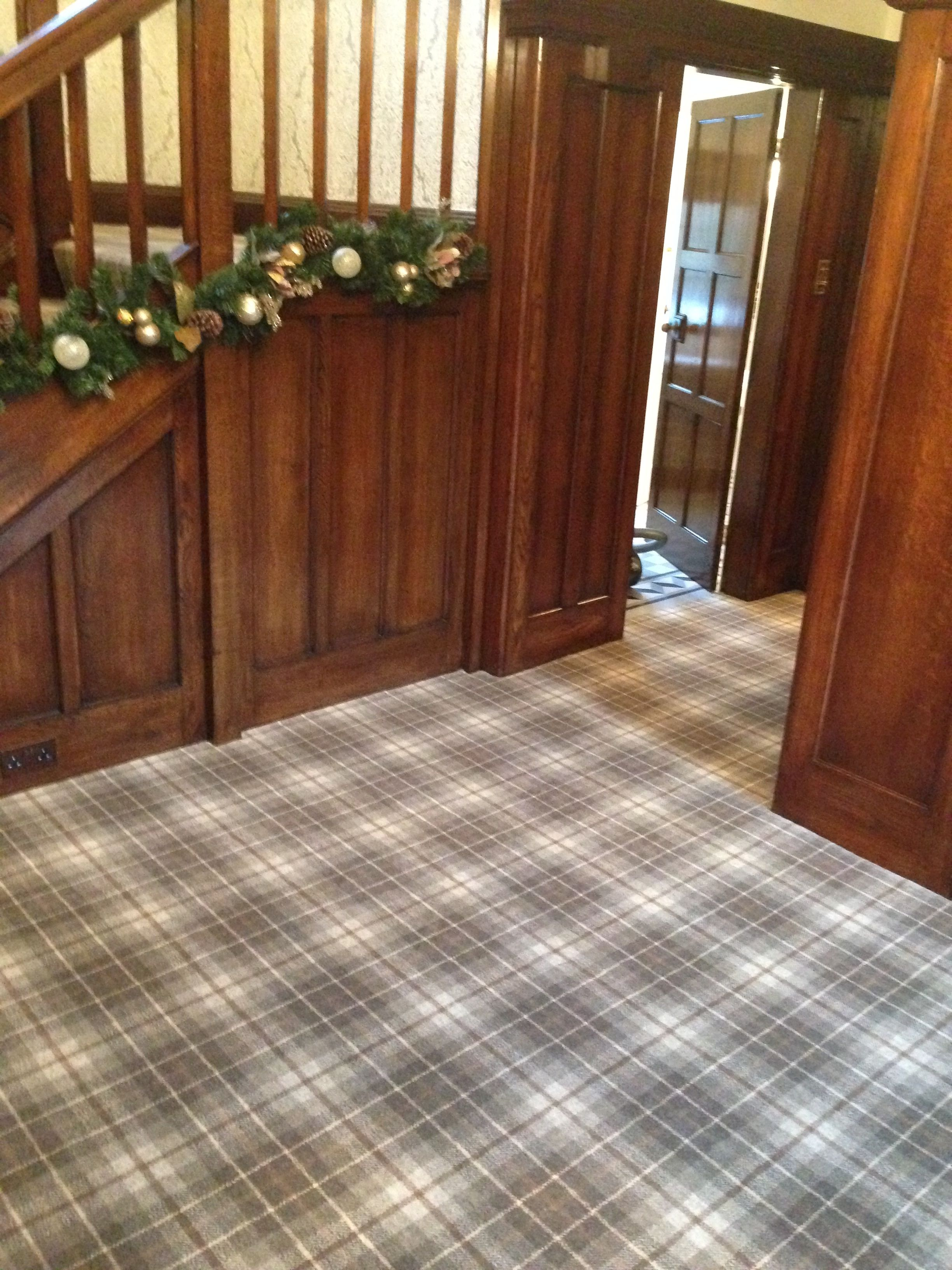 Gallery Briggate House Interiors Tartan Carpet Patterned Carpet Bedroom Carpet
