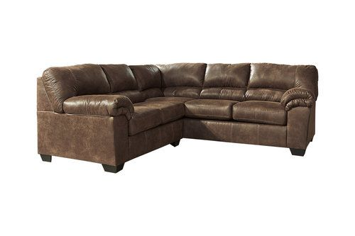 Best Signature Design By Ashley 2 Pc Chocolate Sectional Sofa 400 x 300