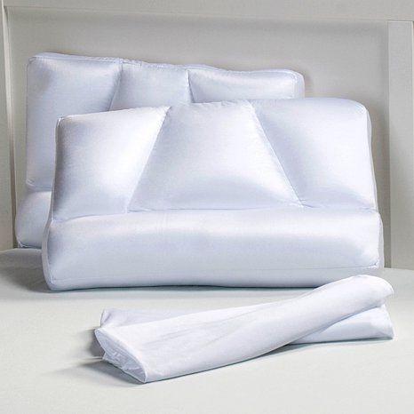 Tony Little Homedics Micropedic Sleep Pillows 2 Pack At Hsn Com Sleep Pillow Pillows Bed Pillows