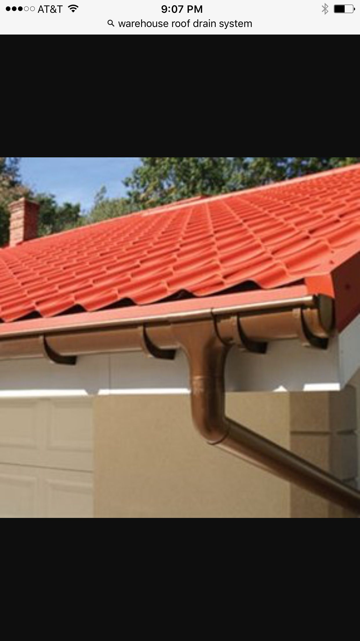 Pin By Rivelino Martins On Casa Metal Roof How To Install Gutters Gutters