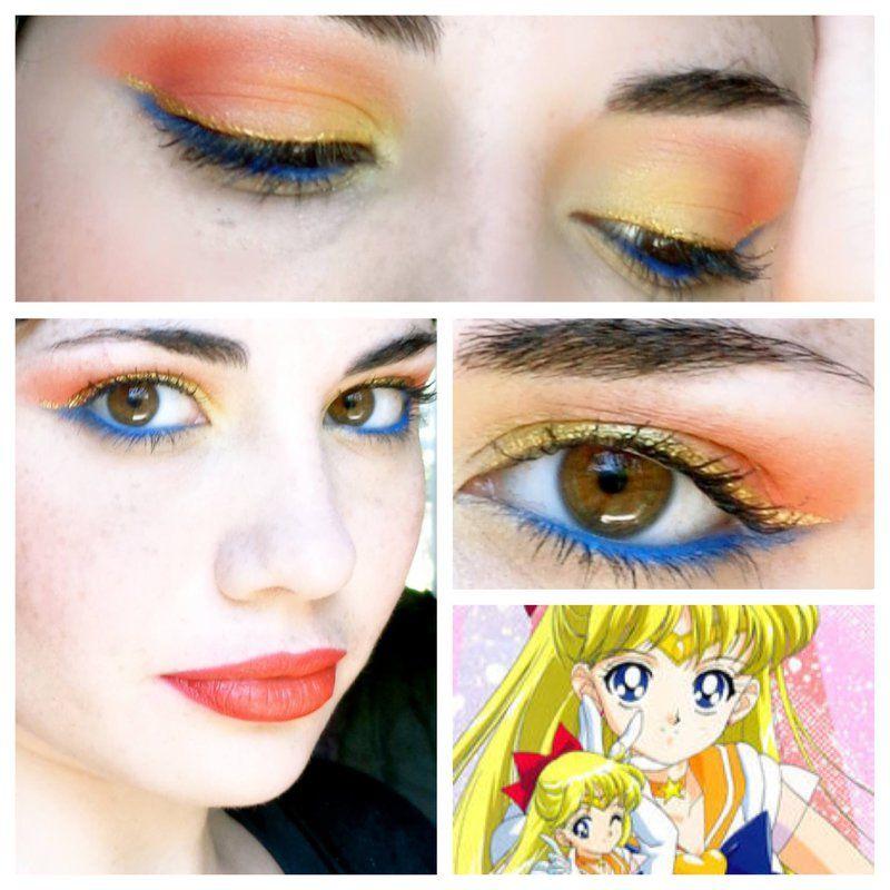 Sailor Venus By Lovelyliar On Deviantart Sailor Moon Makeup Sailor Venus Bright Makeup