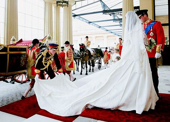 Prince Harry Wedding Reception.Prince Harry Fixing The Train On Kate Middleton S Gown At