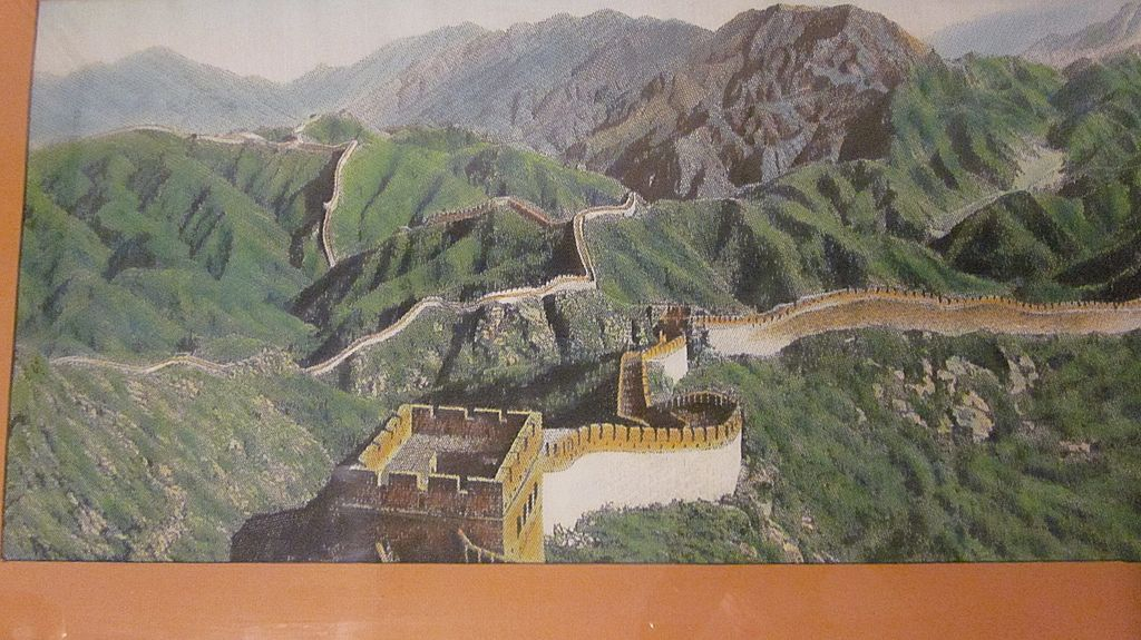 The Great Wall Of China Great Wall Of China China Crafts China
