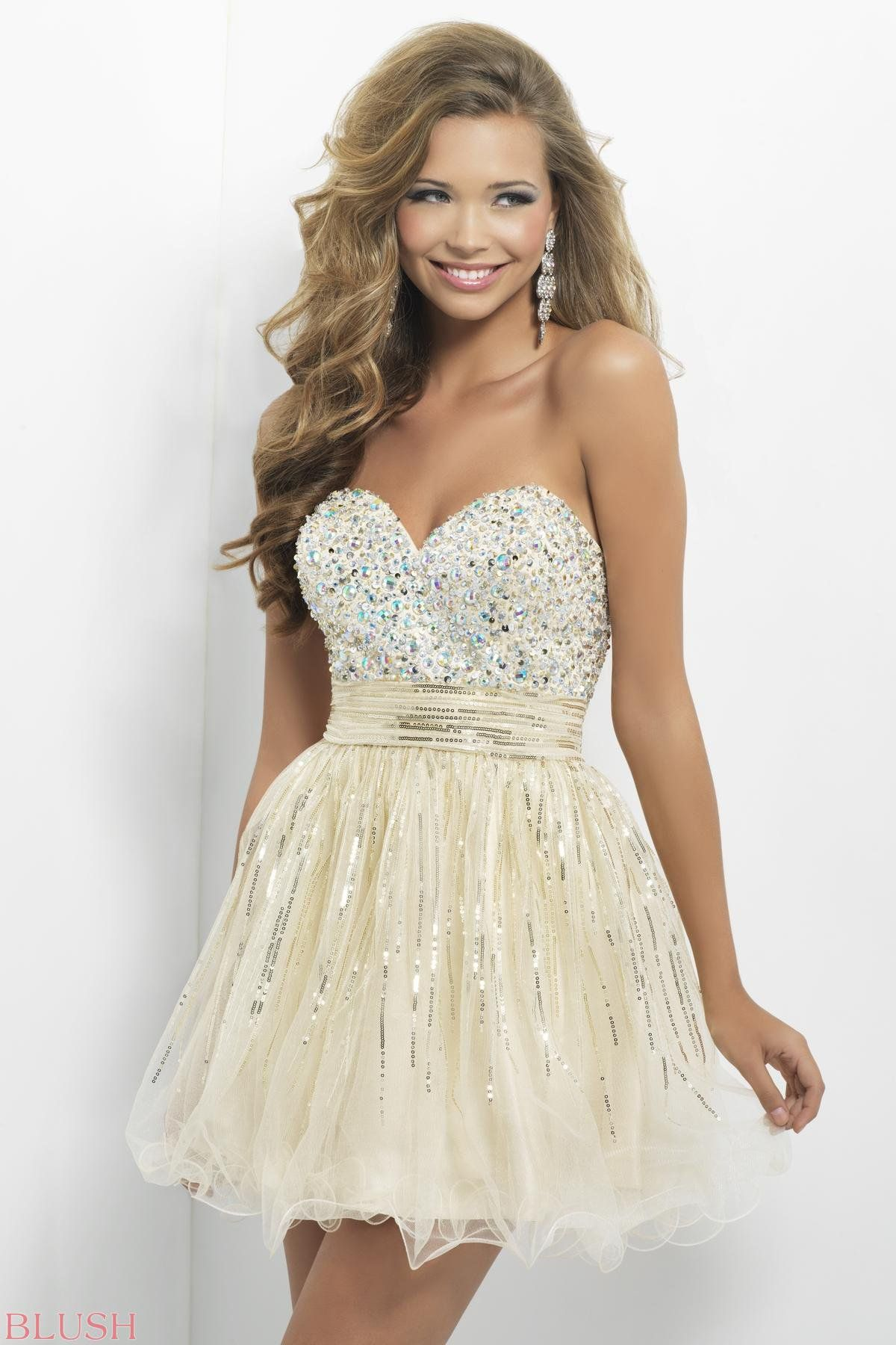 b4c294967aa Homecoming dresses by Blush Prom Homecoming Style 9665 on Wanelo ...