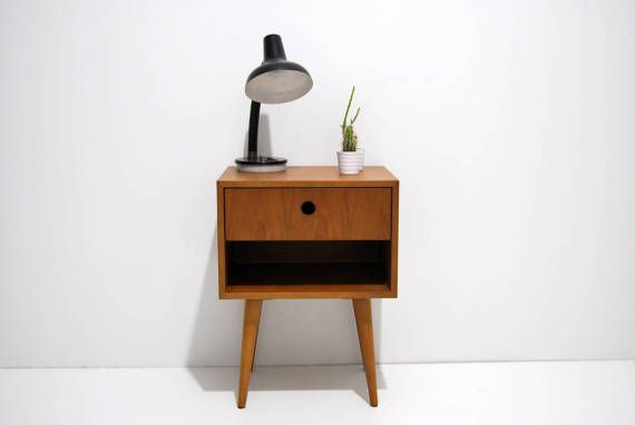 Pair Of Nightstand Night Stand Bedside Table Bed Side Table