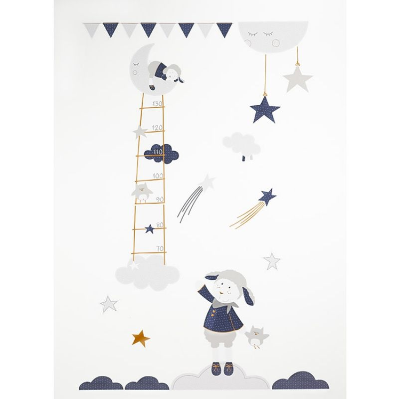Fabulous Sticker mural Merlin Sauthon Baby D co Berceau Magique