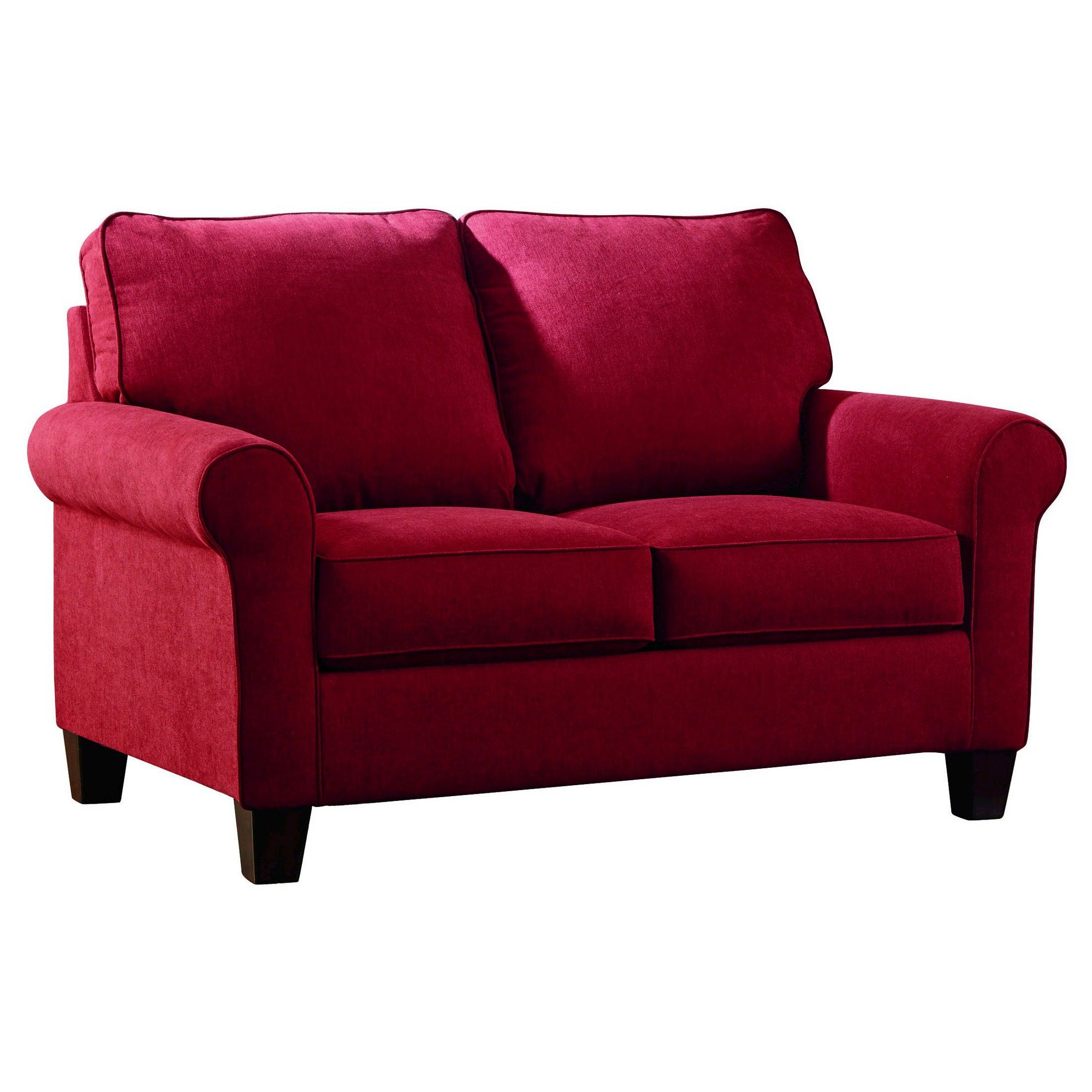 Zeth Twin Sofa Sleeper Crimson (Red) Signature Design