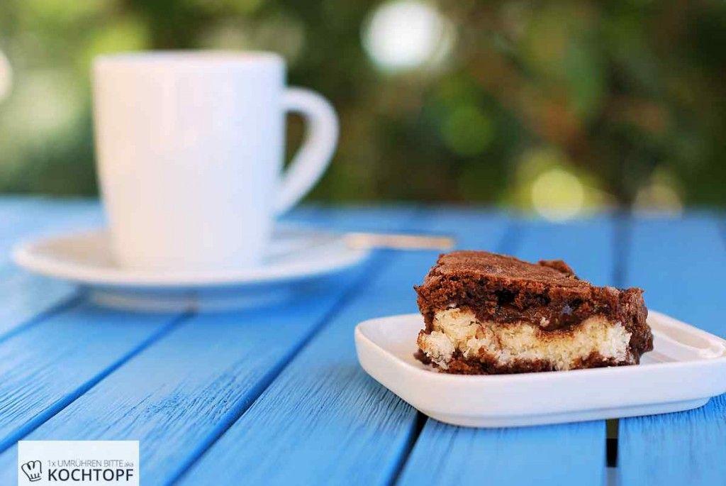 Kokos-Brownie – Bounty kann einpacken!