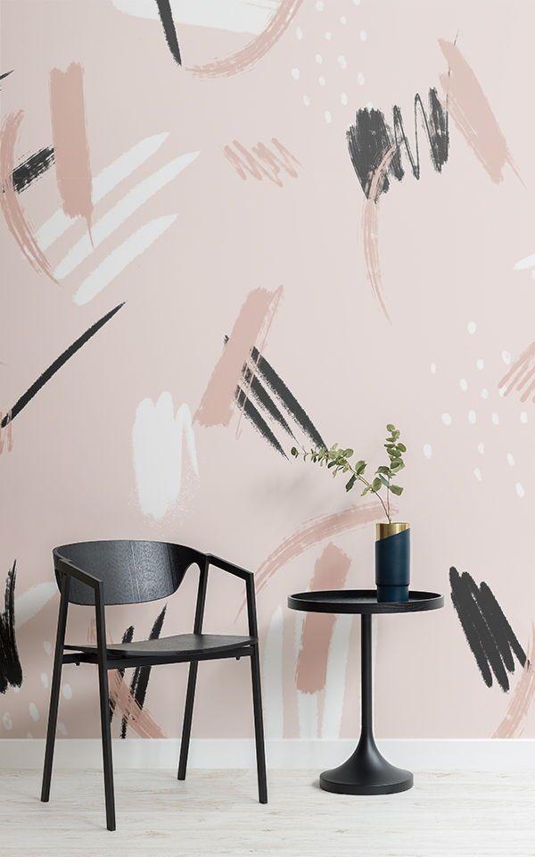 Ein Rosa Wallpaper Wandbild Kann Eine Sehr Positive Auswirkungen Auf Ihren  Raum Haben, Das Gefühl