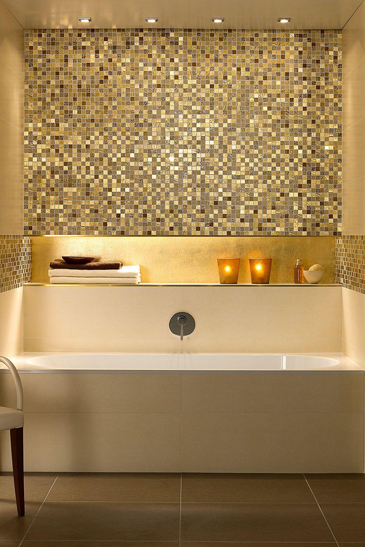 Villeroy Boch Moonlight Beige Dekor 30x30cm 1042 Kd16 5 Badezimmer Mosaik Badezimmer Fliesen Badewanne Fliesen