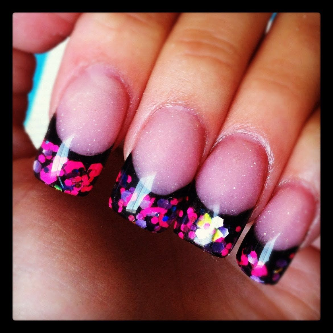 amazing one color acrylic nail designs : Acrylic Nail Designs ...