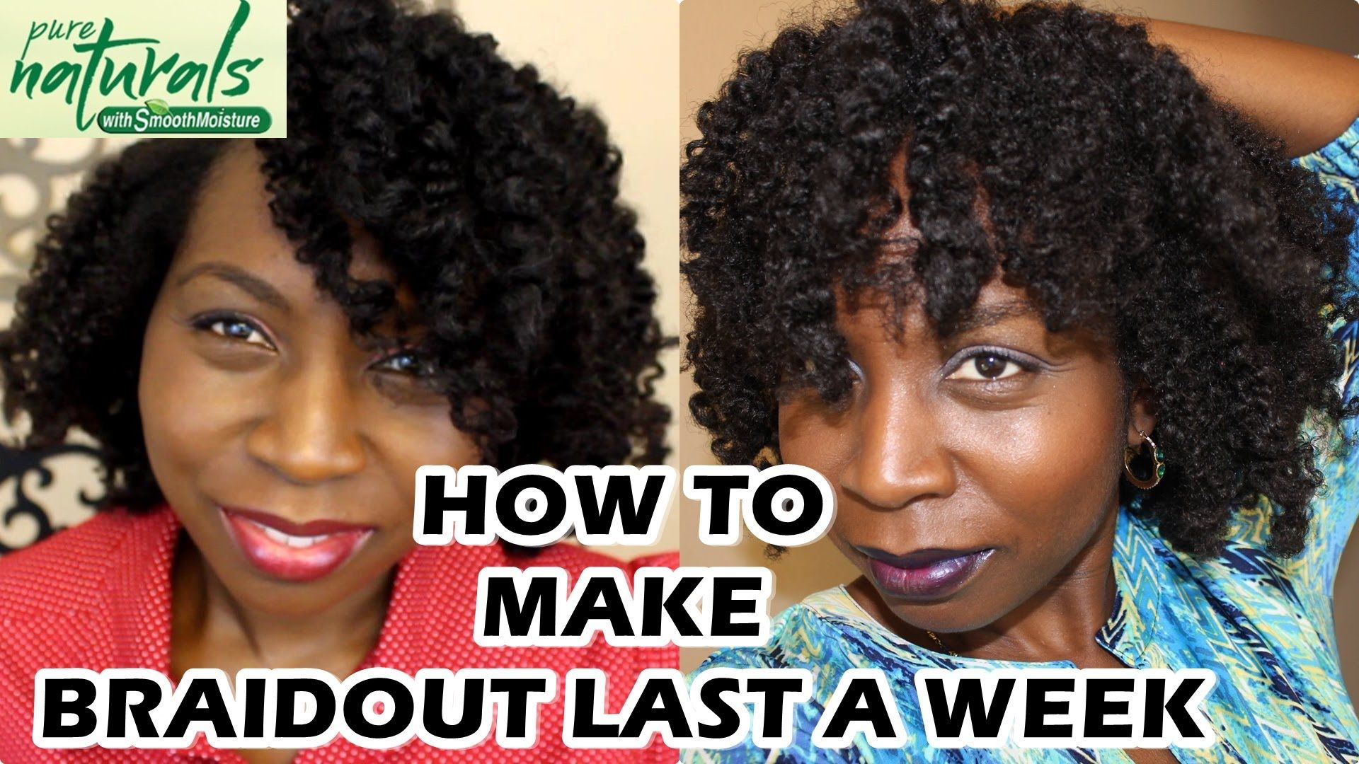 How to Make Your Braidout and Twistout Last Over a Week  Hair