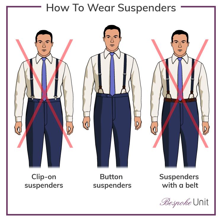 Top 10 Best Men's Suspenders | #1 Guide To Wearing Braces For Men | Suspenders  men fashion, How to wear suspenders, Suspenders men